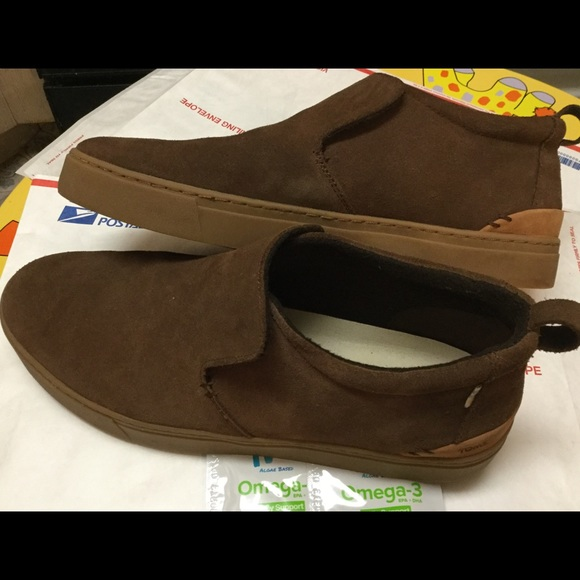 Toms Shoes   Toms Mens Paxton Suede